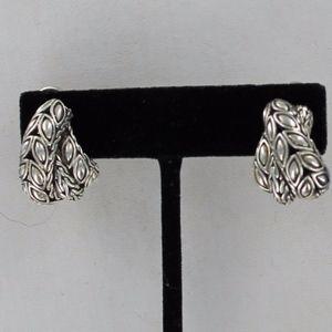 John Hardy Half Hoop Earrings